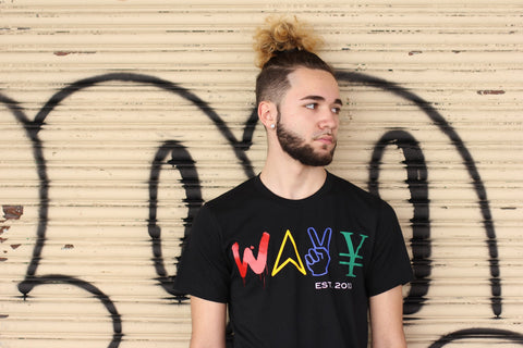 "Wavy Boy ""Color Wave"" tee"
