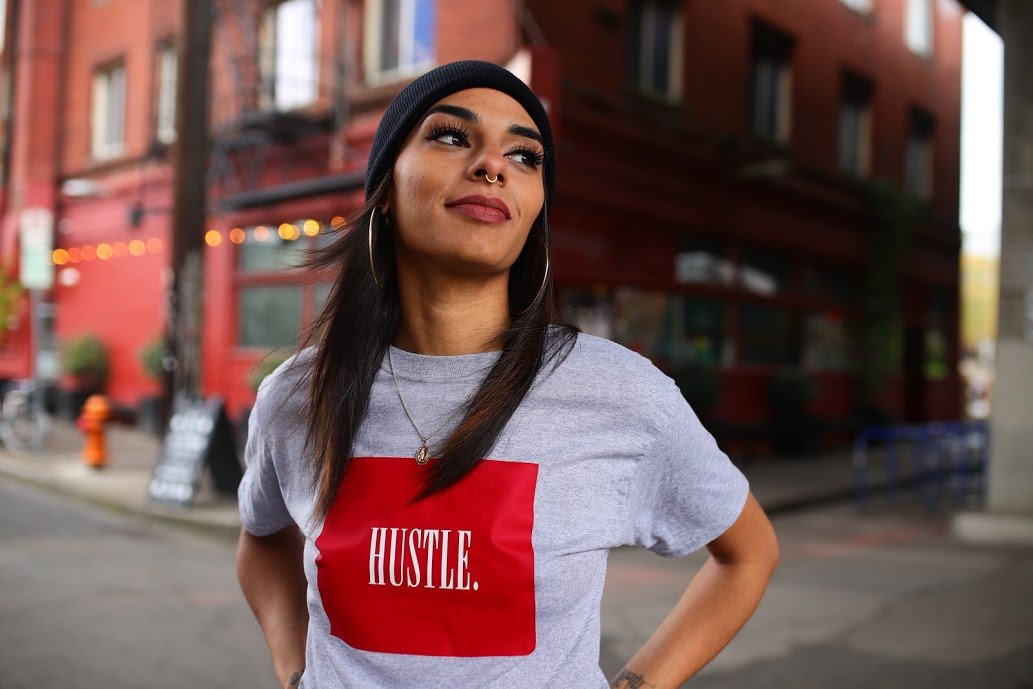 "Wavy Boy ""Hustle Box"" tee"