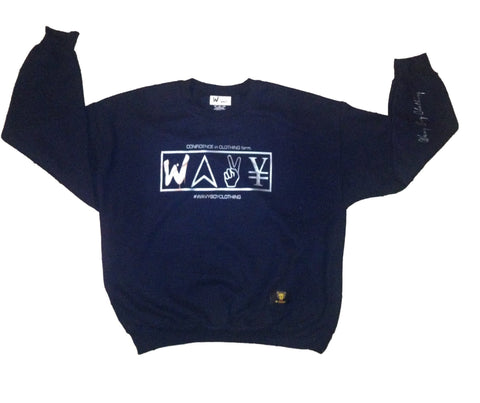 "Wavy Boy ""New Wave"" Crew - Wavy Boy Clothing  - 1"