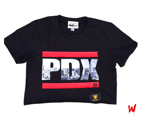 "Wavy Boy ""PDX"" Crop - Wavy Boy Clothing"