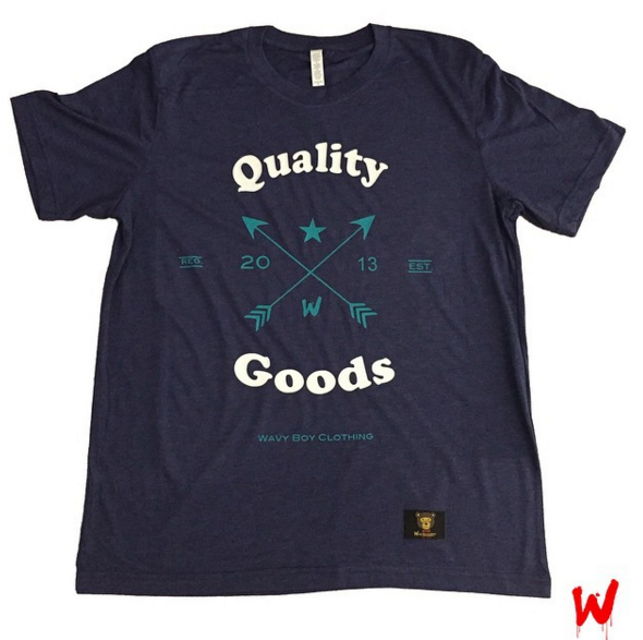 "Wavy Boy ""Quality Goods"" Tee - Wavy Boy Clothing  - 2"