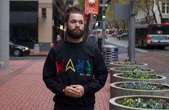"Wavy Boy ""Color Wave"" crew"