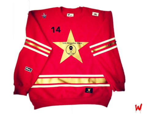 "Wavy Boy ""Los Angeles Stars"" Crew - Wavy Boy Clothing  - 1"
