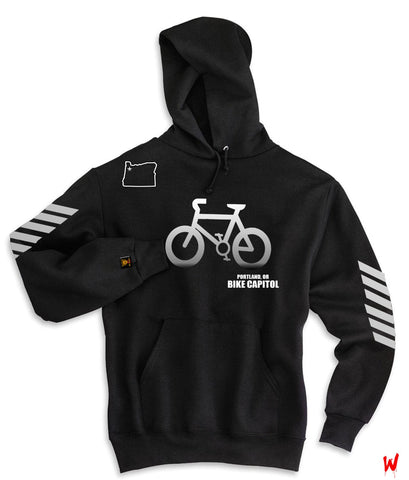 "Wavy Boy ""Bike Capitol"" Hoody - Wavy Boy Clothing"