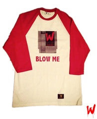 "Wavy Boy ""Blow Me""  (Baseball) Tee - Wavy Boy Clothing  - 1"