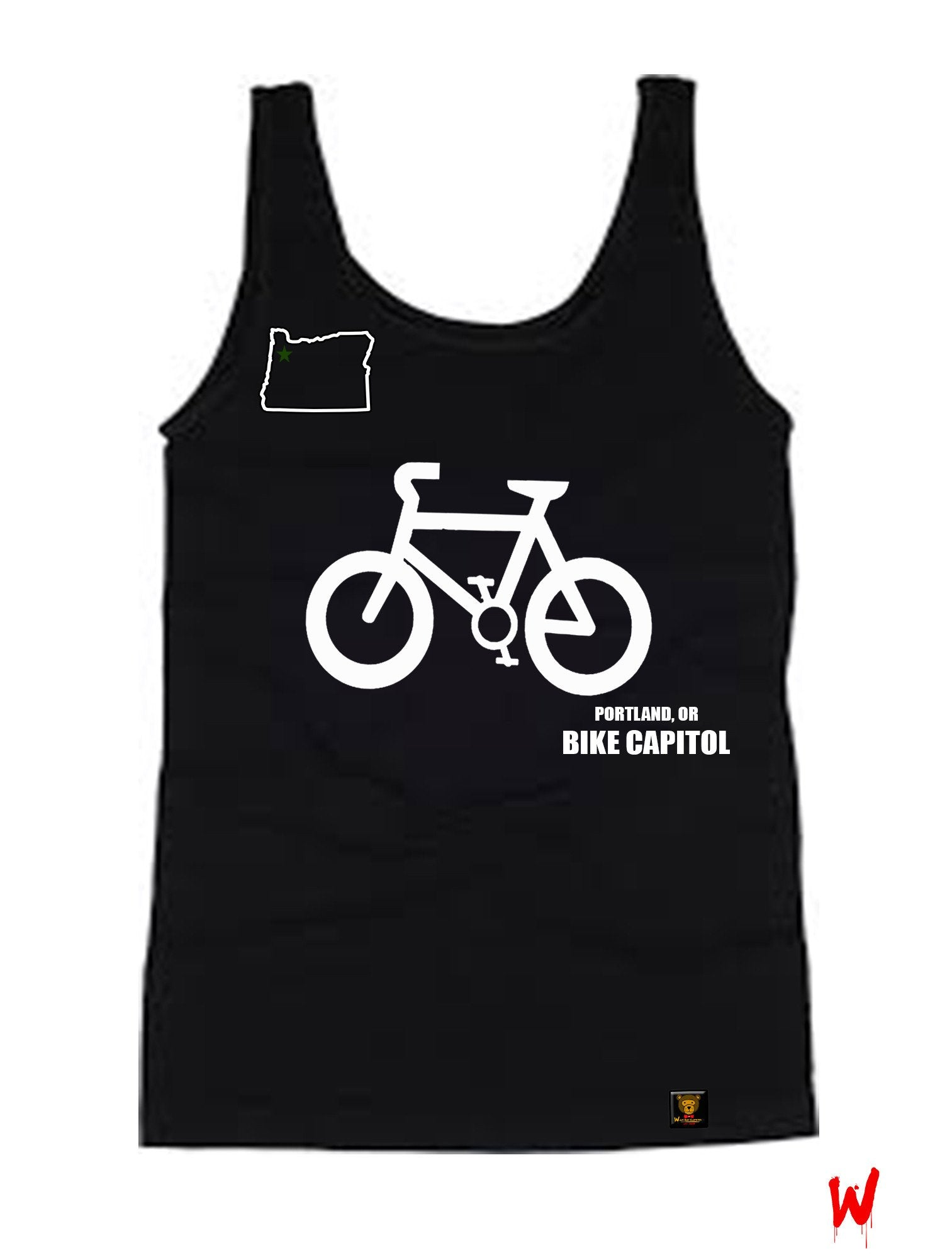 "Wavy Boy ""Bike Capitol"" Tank - Wavy Boy Clothing  - 1"