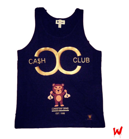 "Wavy Boy ""Cash Club"" Tank"