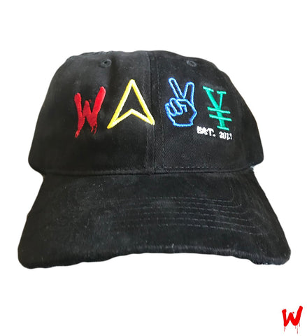 "Wavy Boy ""Color Wave"" Dad Hat"