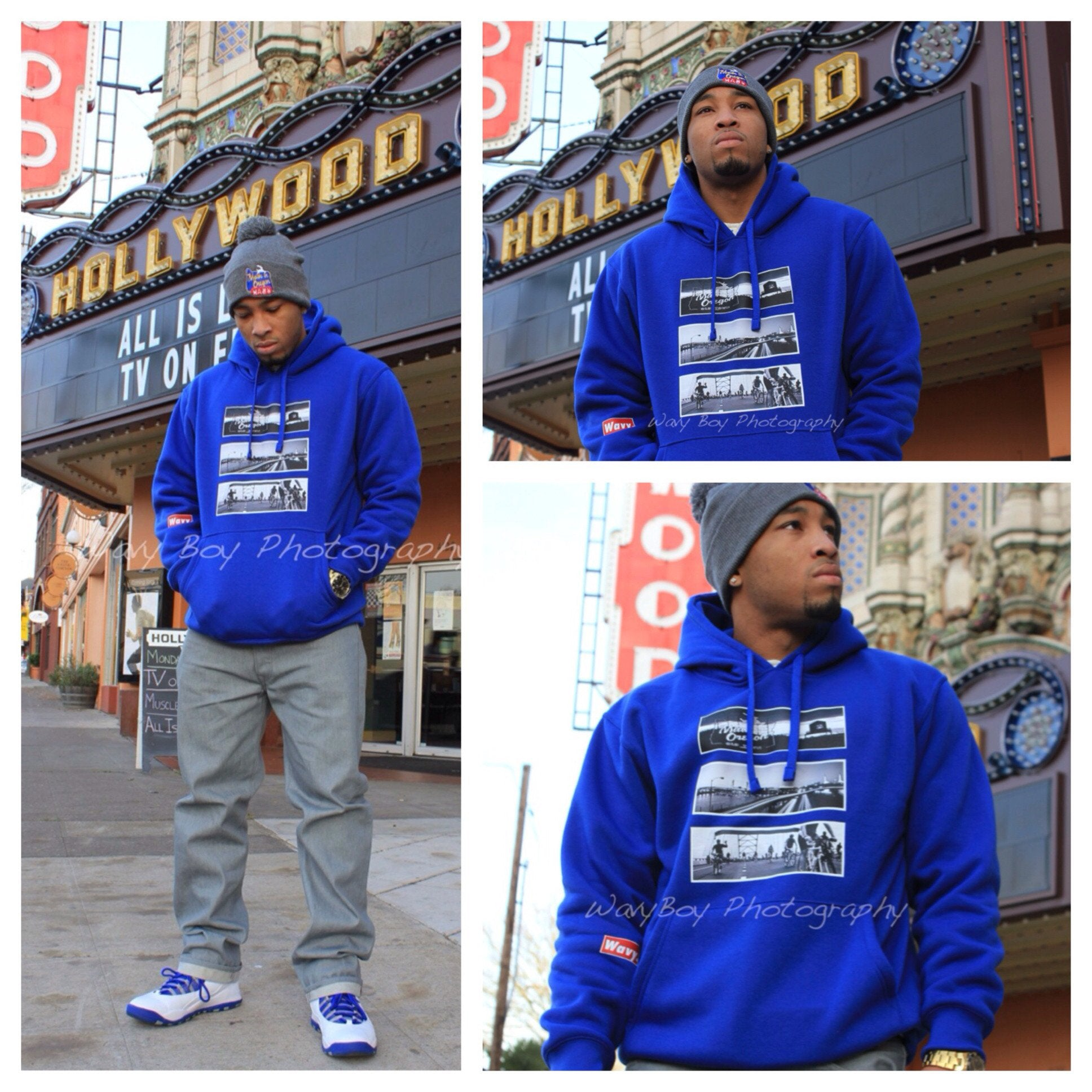 "Wavy Boy ""Made in Oregon"" Hoody - Wavy Boy Clothing  - 4"