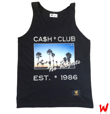 "Wavy Boy ""No Regrets"" Tank - Wavy Boy Clothing  - 1"