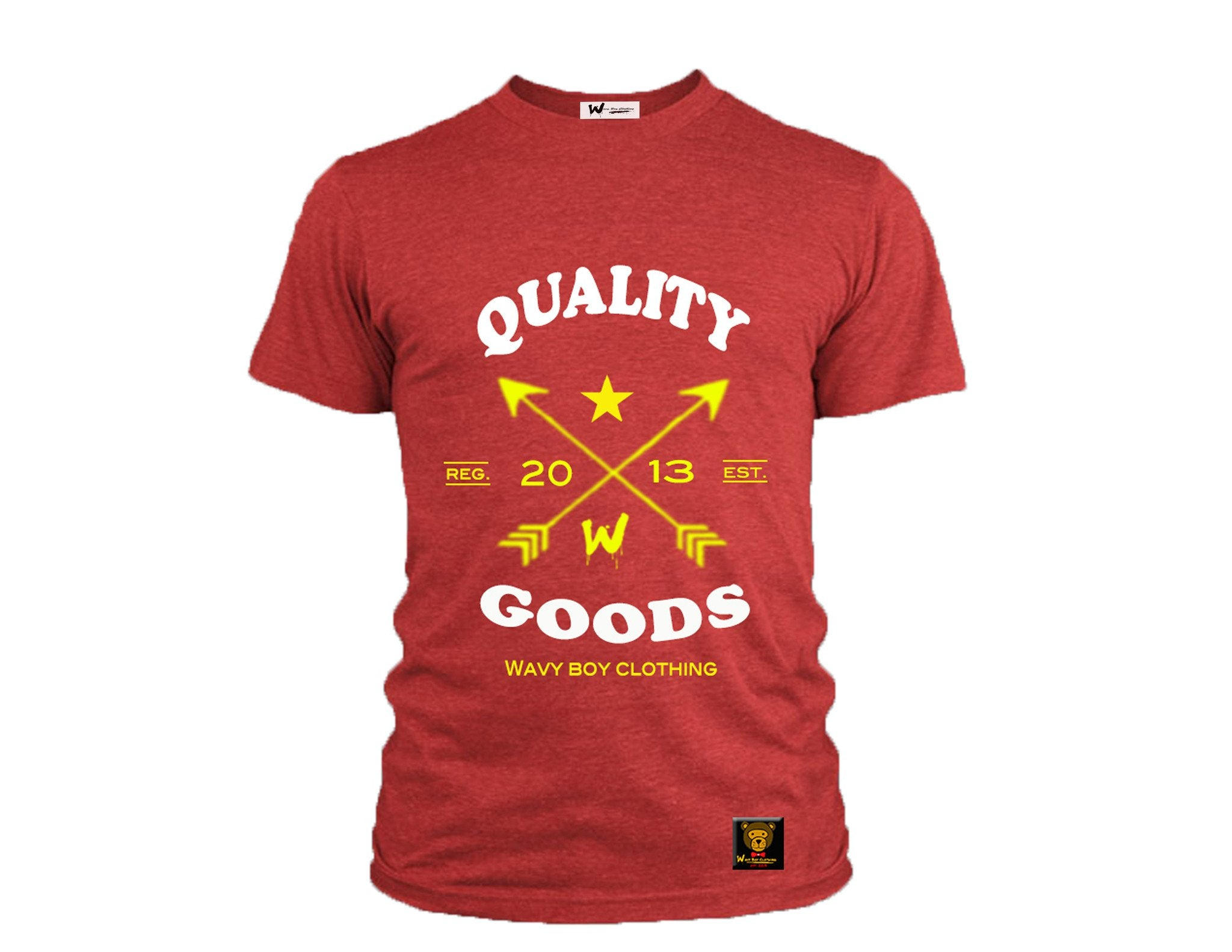 "Wavy Boy ""Quality Goods"" Tee - Wavy Boy Clothing  - 1"