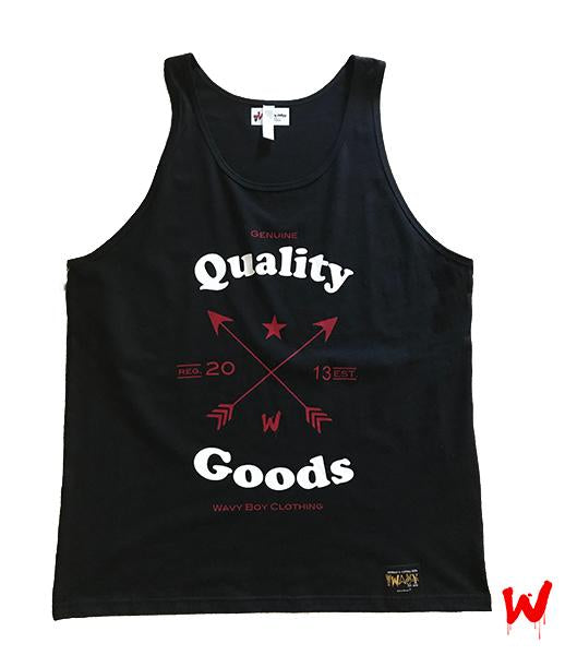"Wavy Boy ""Quality Goods"" Tank"