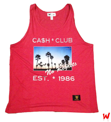 "Wavy Boy ""No Regrets"" Tank - Wavy Boy Clothing  - 2"
