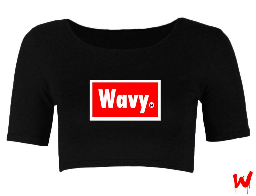 "Wavy Boy ""Wavy"" crop - Wavy Boy Clothing  - 1"
