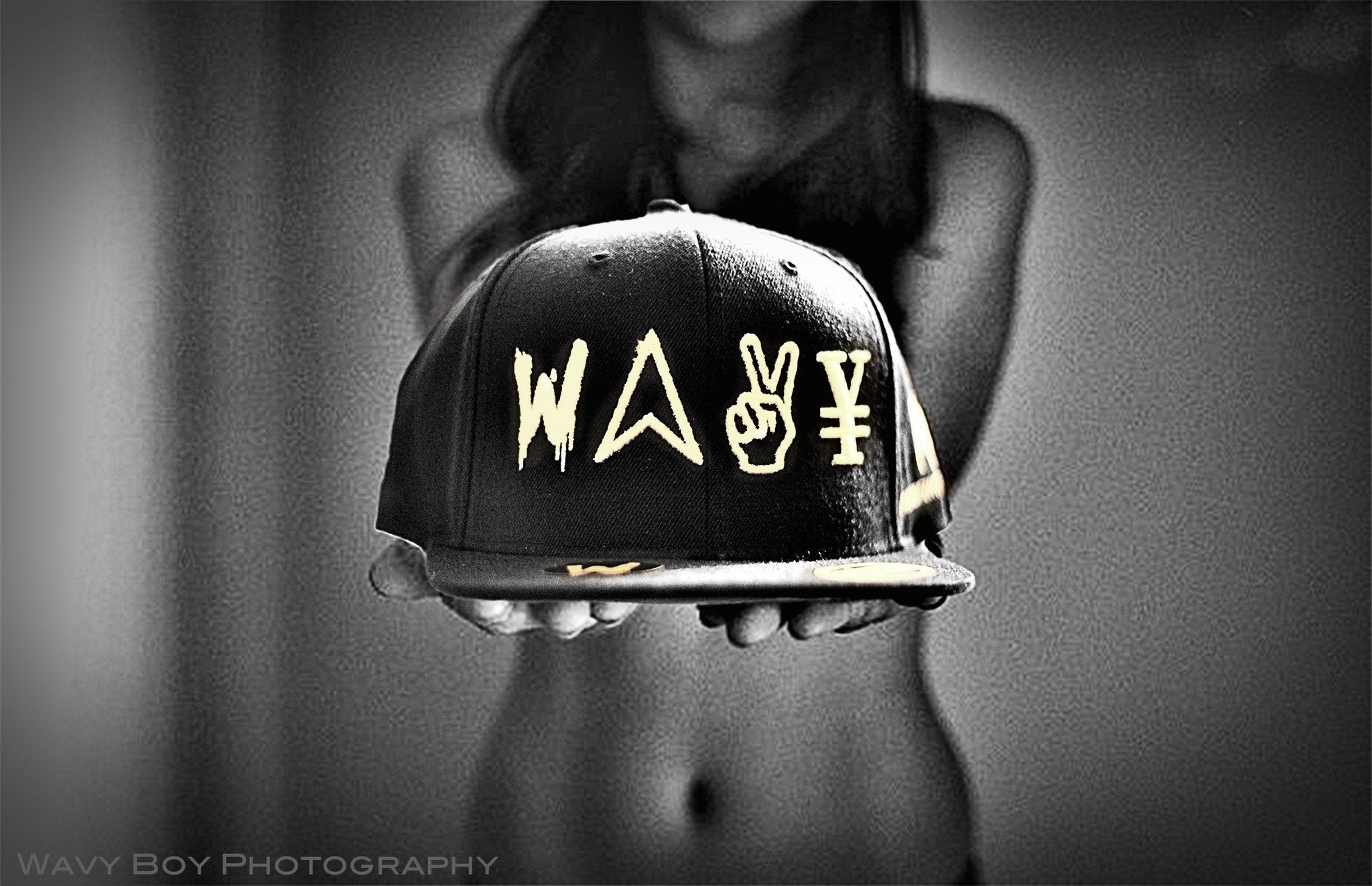 "Wavy Boy ""New Wave"" Snapback - Wavy Boy Clothing  - 2"
