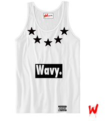"Wavy Boy ""5 Star"" Tank - Wavy Boy Clothing  - 1"