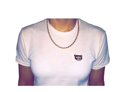 "Wavy Boy ""Bear Head"" women's luxury fitted tees (3) - Wavy Boy Clothing  - 1"