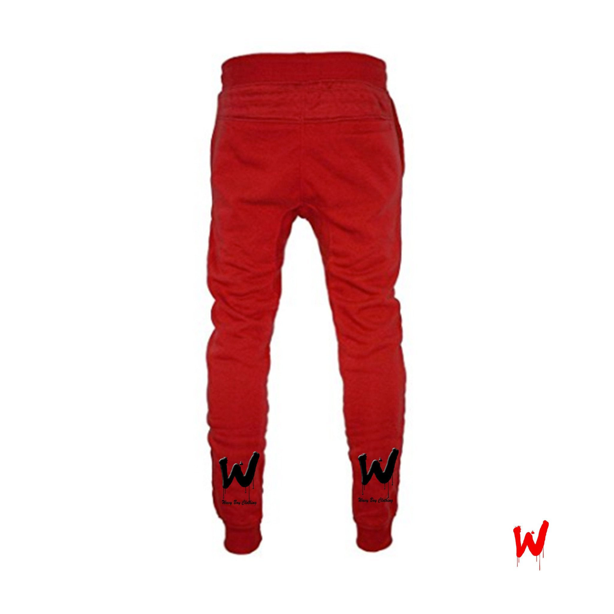 "Wavy Boy ""Drippy W"" joggers - Wavy Boy Clothing  - 2"