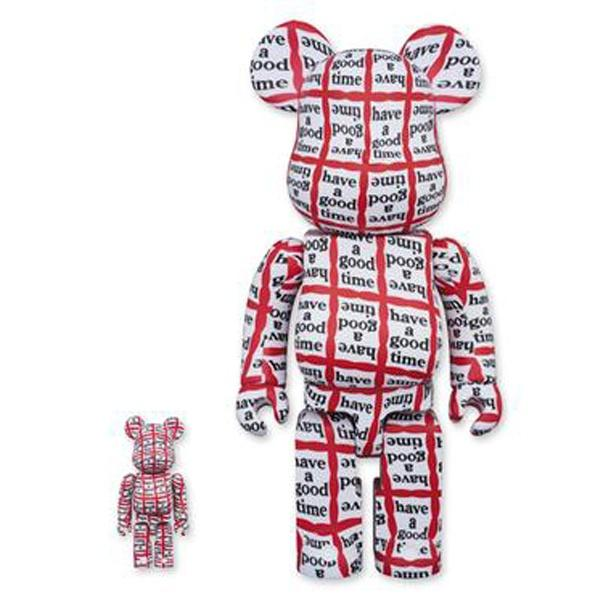 Bearbrick 100% & 400% Set Have a Good Time urban attitude