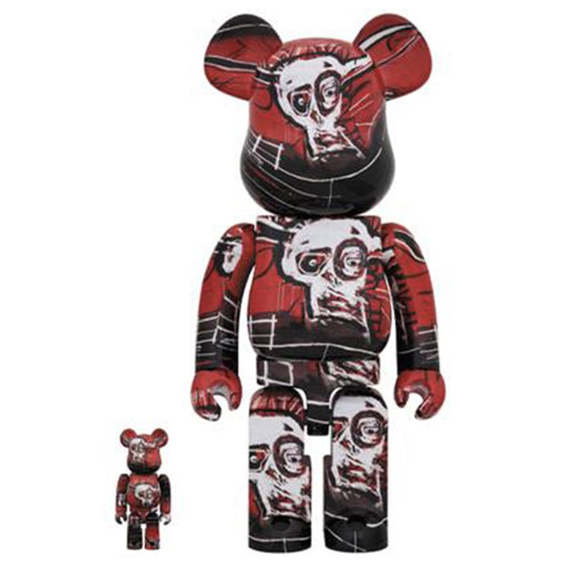 Bearbrick 100% & 400% Set Jean-Michel Basquiat Version 5 urban attitude
