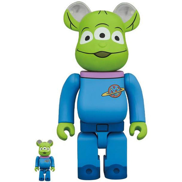 Bearbrick 100% & 400% Set Toy Story Alien urban attitude