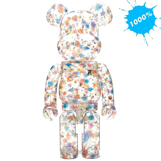 Bearbrick 1000% Anrealage Clear Flower Version urban attitude
