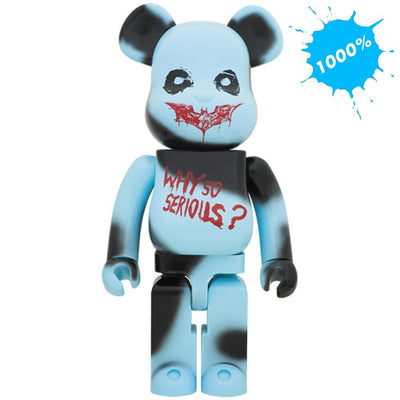 Bearbrick 1000% DC Comics The Joker Why So Serious? Version urban attitude
