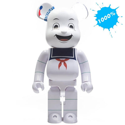 Bearbrick 1000% Ghostbusters Stay Puft Marshmallow Man urban attitude