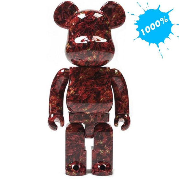 Bearbrick 1000% Mika Ninagawa Leather Rose urban attitude