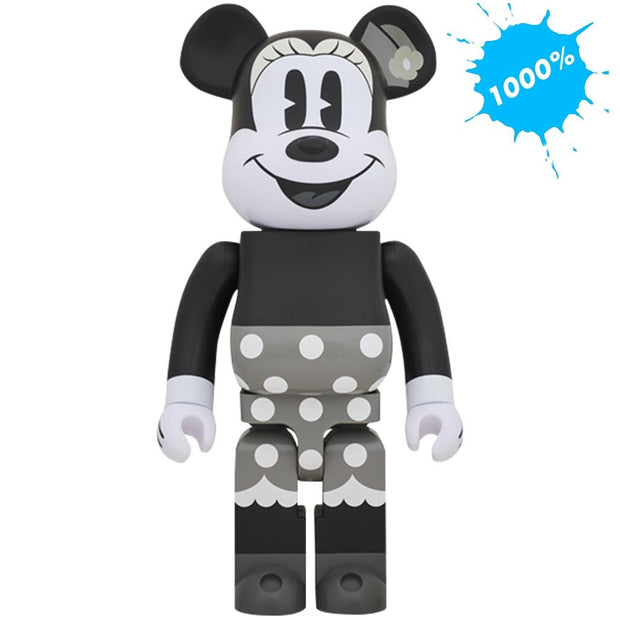 Bearbrick 1000% Minnie Mouse Black & White Version urban attitude