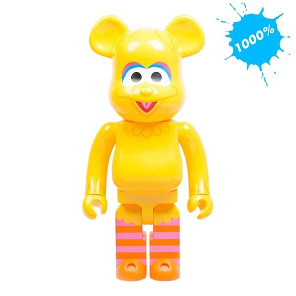 Bearbrick 1000% Sesame Street Big Bird urban attitude