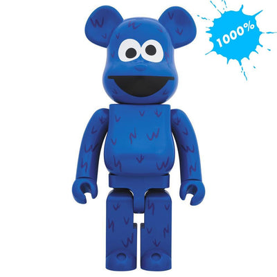Bearbrick 1000% Sesame Street Cookie Monster urban attitude