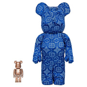 Bearbrick 100% & 400% Set CLOT X Nike Royal University Blue Silk urban attitude