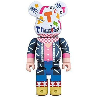 Bearbrick 400% Amplifier Zerry urban attitude