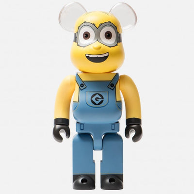 Bearbrick 400% Despicable Me 3 Minion Dave urban attitude