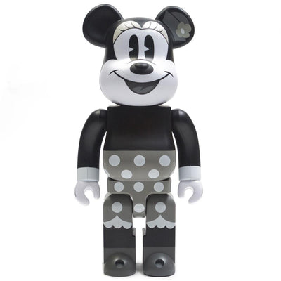 Bearbrick 400% Minnie Mouse Black & White Version urban attitude