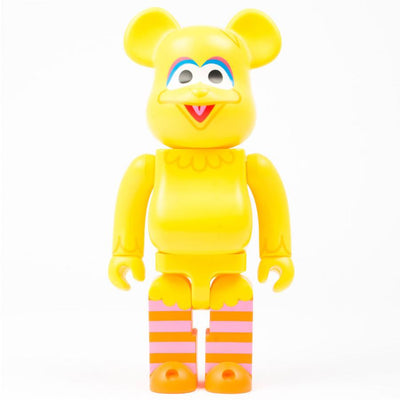 Bearbrick 400% Sesame Street Big Bird urban attitude