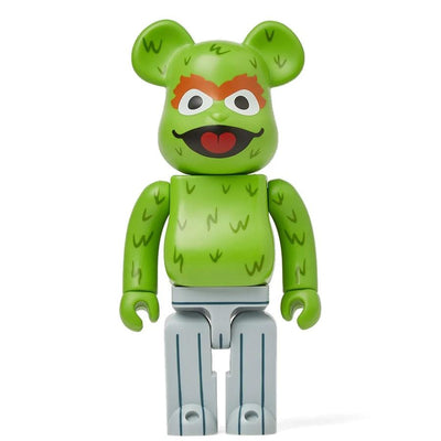 Bearbrick 400% Sesame Street Oscar The Grouch urban attitude