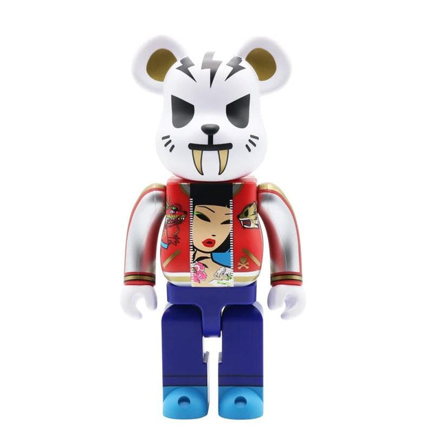 Bearbrick 400% Tokidoki Electric Tiger urban attitude