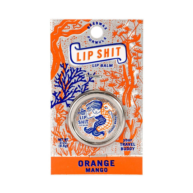 Blue Q Lip Shit Lip Balm Orange Mango Urban Attitude