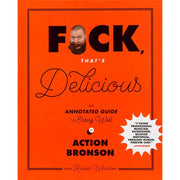 Book Action Bronson Fuck That's Delicious Front Cover Urban Attitude