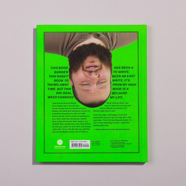 Book Action Bronson Stoned Beyond Belief Back Cover Urban Attitude