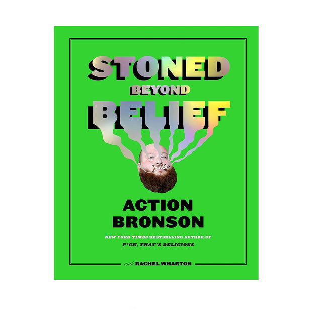 Book Action Bronson Stoned Beyond Belief Front Cover Urban Attitude