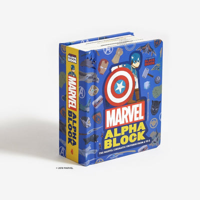 Book Marvel Alphablock Cover Urban Attitude