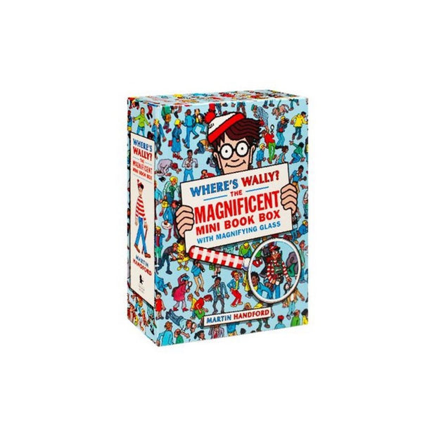 Book Where's Wally The Magnificent Mini Book Box Urban Attitude