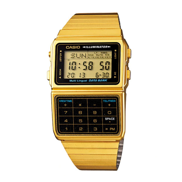 Casio Watch Calculator Gold DBC611G-1D Urban Attitude
