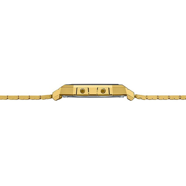 Casio Watch Digital Super Slim Gold Flat A700WG-9A Urban Attitude