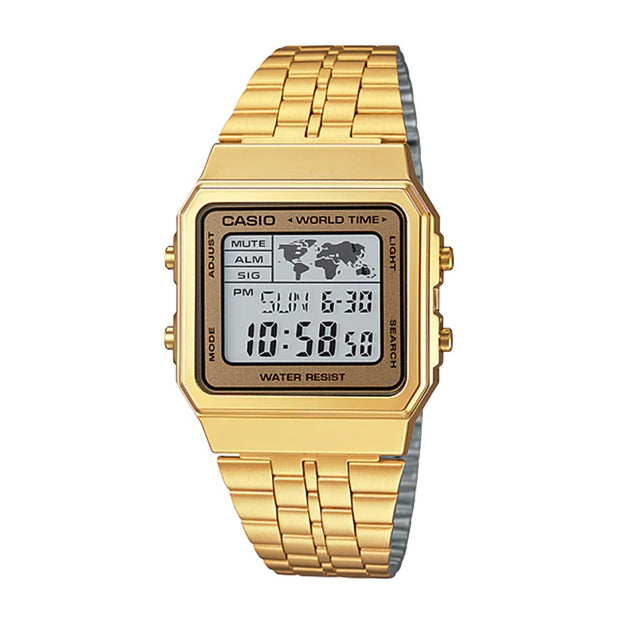 Casio Watch World Gold A500WGA-9DF Urban Attitude