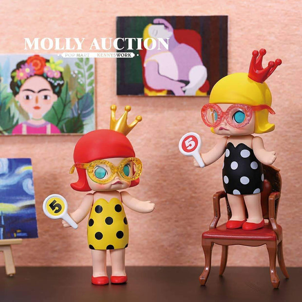 Pop Mart x Kennyswork Molly Blind Box Auction Series