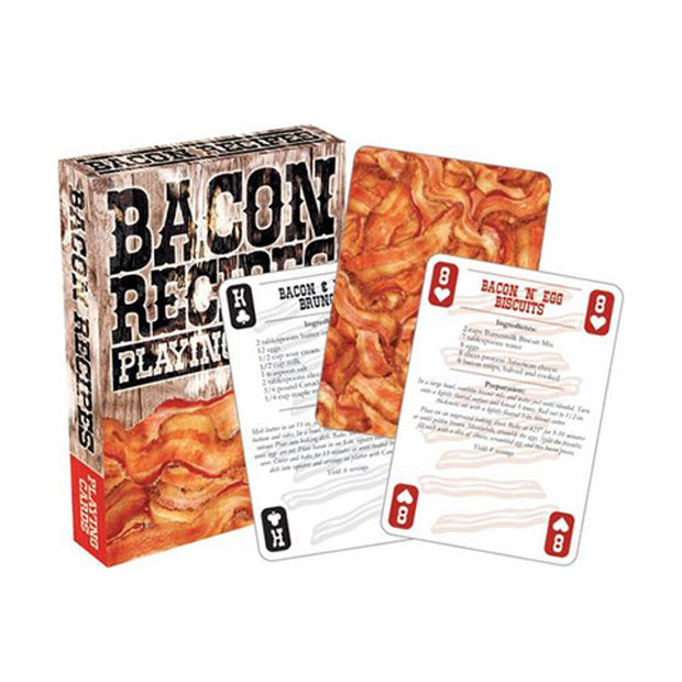 NMR Bacon Recipes Playing Cards Urban Attitude